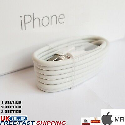 USB Charger & Data Sync Cable Apple IPhone 12 PRO 11 X XS MAX SE 6 7 8 IPad IPod • 2.35£