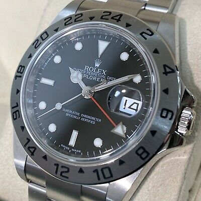 $ CDN12219.06 • Buy Rolex Explorer 2 16570 V-number Automatic Box And Papers