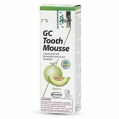 AU25.93 • Buy Gc Tooth Mousse Melon Topical Tooth Cream With Recaldent 1 Tube Of 40 Gm