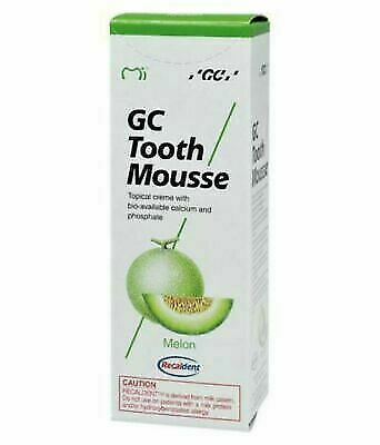 AU25.53 • Buy Dental Gc Tooth Mousse Melon Topical Tooth Cream Recaldent (40 Gm)
