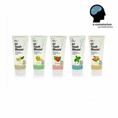 AU22.05 • Buy GC Tooth Mousse 40g - Topical Tooth Cream With Recalden ANY RANDOM Flavour 1tube