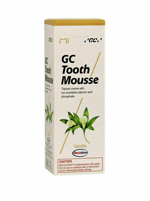 AU27.24 • Buy Gc Tooth Mousse Vanilla Topical Tooth Cream With Recaldent 1 Tube Of 40 Gm