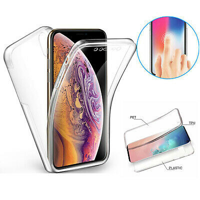 AU5.69 • Buy 360 Full Body Shockproof Silicone Gel Case Cover For IPhone 12 11 XR X 7 8