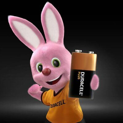 Duracell Plus Power 9V Block PP3 LR22 Batteries, Smoke Alarms MN1604 EXPIRY 2024 • 5.99£