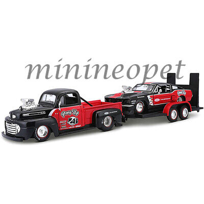 $37.90 • Buy Maisto 32751 1948 Ford F-1 Pickup & 1967 Mustang Gt & Trailer 1/24 Pony Up Set