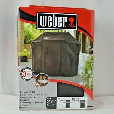 $ CDN50.26 • Buy Weber 7106 Grill Cover With Storage Bag For Spirit 220 And 300 Series Gas Grills