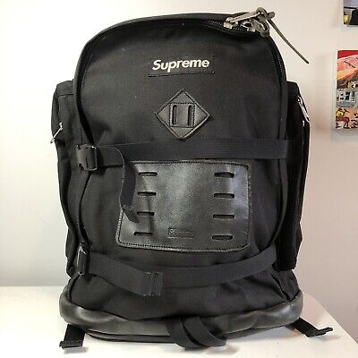 $ CDN254.30 • Buy Supreme Vintage Black Backpack Box Logo Canvas 100% Authentic Solid Condition