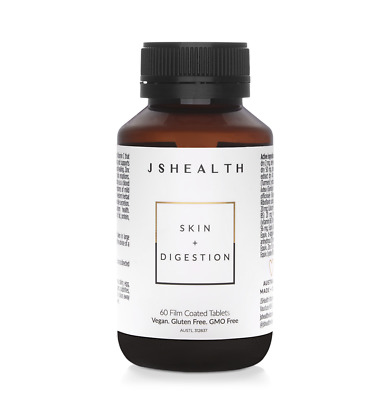 AU48.95 • Buy JS HEALTH SKIN And DIGESTION 60T - IMPROVE YOUR SKIN & DIGESTION. JSHEALTH