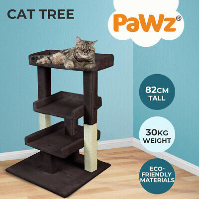 AU49.99 • Buy PaWz Pet Cat Tree Scratching Post Scratcher Trees Tower Pole Gym Condo Furniture