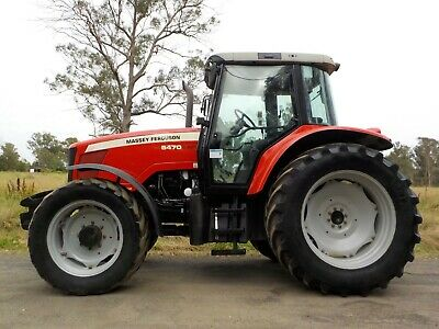 AU51950 • Buy Late Model Massey Ferguson 5470 Dyna 4 125hp Agricultural Farm Tractor