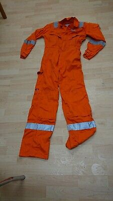Ladies Or Mens Proban Safety Use Orange Colour Boilersuit Or Overalls. • 18£