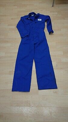 Ladies Or Mens Proban Use Royal Blue Colour Boilersuit Or Overalls. • 13£