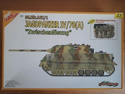 1/35 Dragon Cyberhobby Jagdpanzer IV/70A With 352nd Volksgrenadier Division • 50£