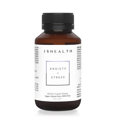 AU49.95 • Buy JS Health Anxiety + Stress 60 Tablets - Free Delivery From Sydney!