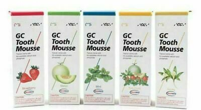 AU26.24 • Buy GC TOOTH MOUSSE RANDOM FLAVOUR TOPICAL TOOTH CREAM WITH RECALDENT 1 TUBE OF 40gm