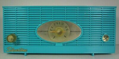 $ CDN95.15 • Buy Vintage Silvertone Model 4 Radio Working Mid-century Modern