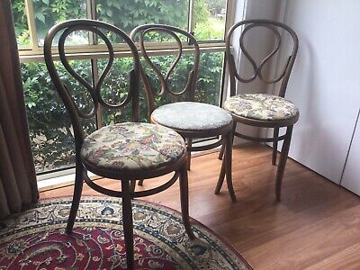 AU180 • Buy 3 Vintage Bentwood Chairs