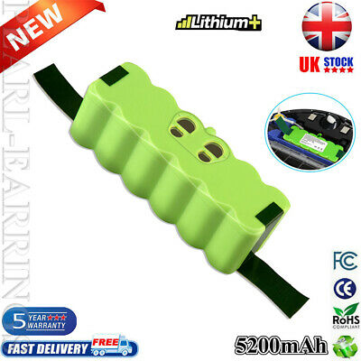 5200mAh Replacement Battery For IRobot Roomba Li-ion 521 525 530 531 615 620 625 • 19.59£