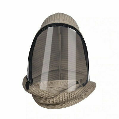 Full Face Shield Visor Reusable Mask Sheild Safety Clear PPE Hooded Hat • 9.99£