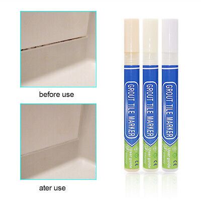 Anti Mould Grout Pen For Revives Restores Tile In Kitchen Shower White Beige NEW • 1.97£