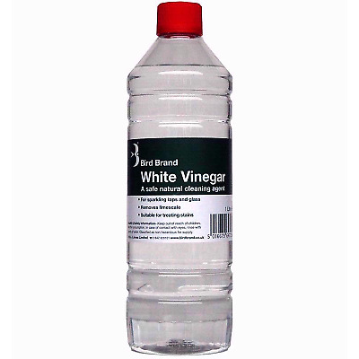 £6.39 • Buy White Vinegar Cleaning Limescale Glass Cleaner Stain Remover Bird Brand UK