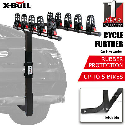 AU125 • Buy X-BULL 5 Bike Rack Carrier Bicycle Car Rear Rack Hitch Mount 2  Towbar Foldable