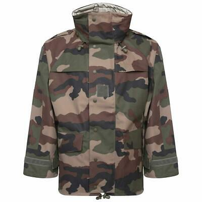 £39.95 • Buy French Army Issue GoreTex Style Waterproof Jacket WITH POCKETS CCE Camo Grade 1