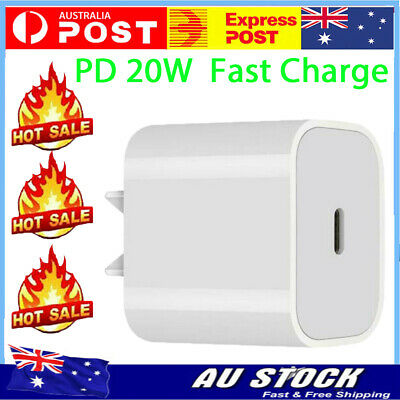 AU15.99 • Buy For IPhone 12 Mini 12 Pro Max 20W USB Type C Fast Wall Charger PD Power Adapter*