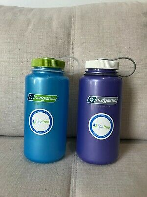 AU20 • Buy 2 Nalgene 1 Litre Water Bottles