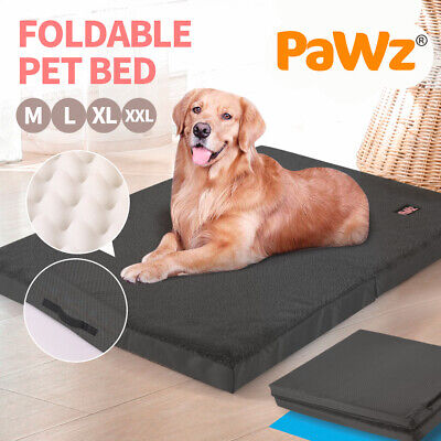 AU45.99 • Buy PaWz Pet Bed Mattress Pet Beds Dog Pad Cat Pads Soft Cushion Washable Mat Black