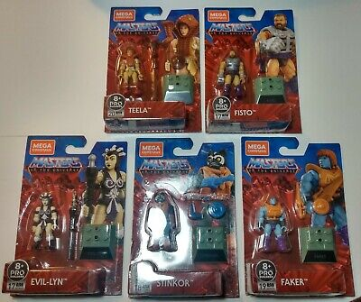 $36.99 • Buy Mega Construx Masters Of The Universe Stinkor, Faker, Fisto, Teela, And Evil-lyn