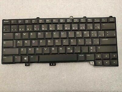 $ CDN53 • Buy Dell Alienware 13 15 R2 Series Spanish Latin Backlit Laptop Keyboard Black 9rn5f