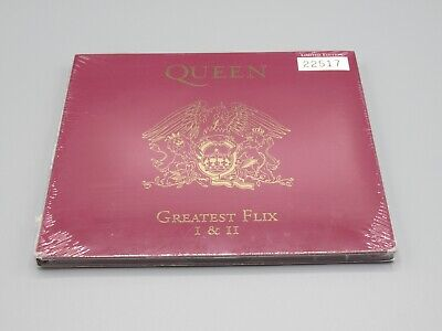 £27.95 • Buy Greatest Flix I & II DVD Numbered Limited Edition Promo - Queen Freddie Mercury