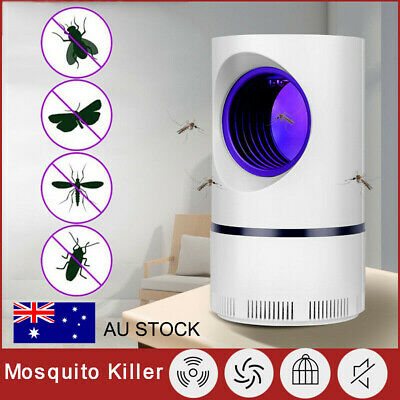 AU16.99 • Buy Electric UV Light Mosquito Lamp Insect Trap Mosquito Bug Fruit Fly Gnat Killer