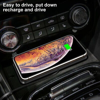 AU22.48 • Buy QI Car Fast Charging Wireless Charger Mat Pad Holder For IPhone Samsung~