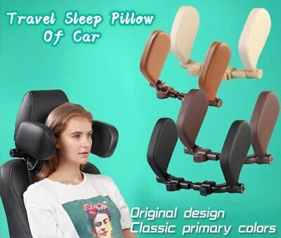 AU49.31 • Buy Car Seat Headrest Neck Soft Pillow Adult Child Leather Roadpal Auto Seat Head