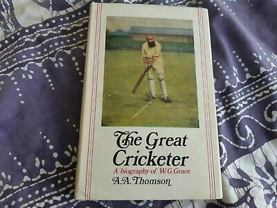 The Great Cricketer, A Biography Of W.G. Grace By A.A. Thomson. 1968 Sports Book • 5.49£