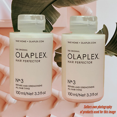 AU94.95 • Buy OLAPLEX No 3 HAIR PERFECTOR 100ml X 2- BRAND NEW AND SEALED-TAKE HOME TREATMENT