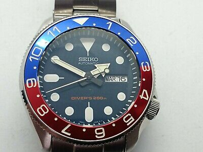 $ CDN400 • Buy Seiko Skx007 Supermod Automatic Stainless Steel Dive Watch