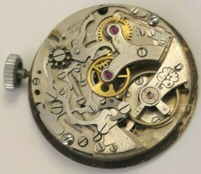 $ CDN189.34 • Buy VINTAGE CHRONOGRAPH MOVEMENT VENUS 170 Working With Dial For Parts Or Restore