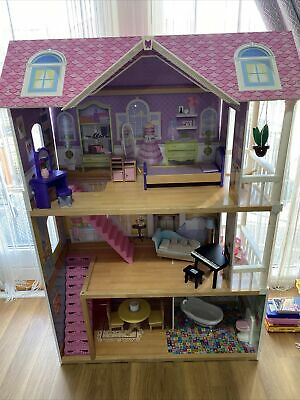 £45 • Buy ELC Wooden Dolls House And Furniture