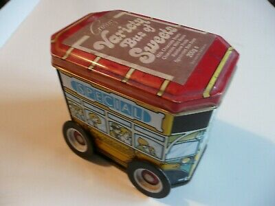 Cravens Of York - Variety London Bus Of Sweets - Empty Tin  • 5.19£