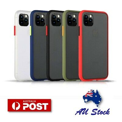 AU7.95 • Buy IPhone 12 Mini 11 Pro Max XS Shockproof Slim Matte Bumper Case Cover For Apple