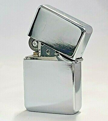 £4.49 • Buy Chrome Petrol Lighter Windproof Refillable Silver Birthday Christmas Gift *