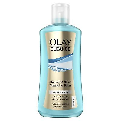 AU32.74 • Buy Olay Cleanse Refresh & Glow Cleansing Toner Cleanses Soothes & Primes Skin 200ml