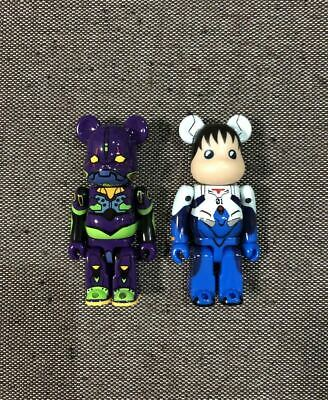 $76.34 • Buy Bearbrick Evangelion Theater Edition Sequence Eva First Machine Night Color