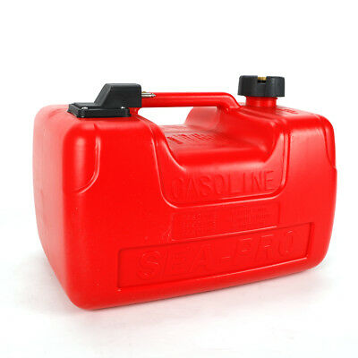 $58 • Buy Boat Fuel Tank - 3.2 Gallon Low Profile Red 12L Portable Outboard Motor Gas Tank