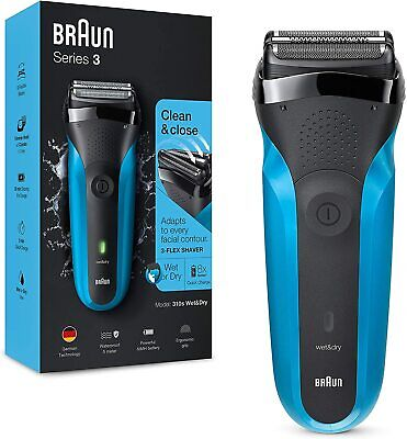 View Details Braun Series 3 310 Electric Shaver Wet & Dry Razor For Men With 3...  • 61.64£