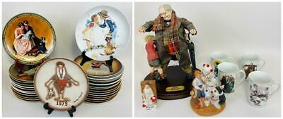 $ CDN357.77 • Buy 35pcs Lot NORMAN ROCKWELL Mugs Porcelain Plates Figures Ornament Gorham Knowles