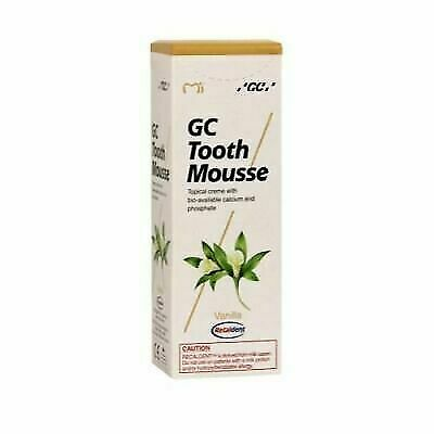 AU25.20 • Buy NEW Dental GC Tooth Mousse VANILLA Flavour